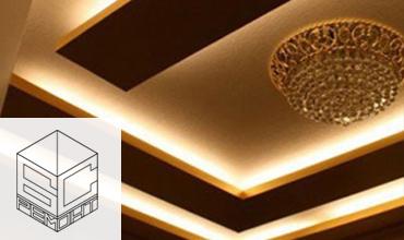 Окачен таван - изработка и монтаж в Бургас